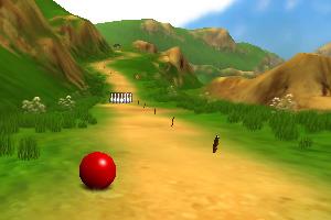 《保龄球滚下山》游戏画面1