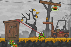《小青蛙吃害虫》游戏画面1