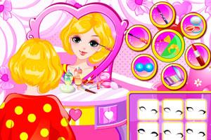 《為女孩化妝》游戲畫面1