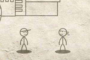 《火柴街霸4》游戏画面1