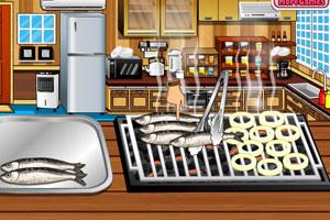 《制作烤沙丁鱼》游戏画面1