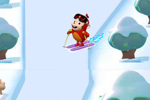 《巴拉猴滑雪》游戏画面1