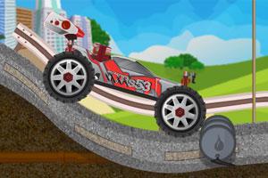 《四驱车障碍赛》游戏画面1