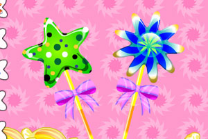 《糖果棒棒糖》游戏画面1