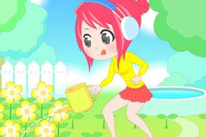 《花园里的女孩》游戏画面1