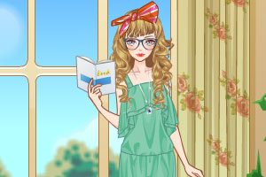 《窗前时尚女孩》截图1