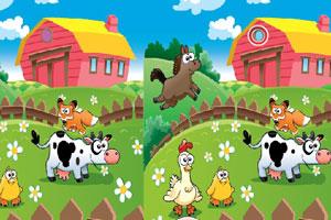 《开心农场找不同》游戏画面1