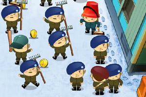 《军训哈林摇》游戏画面1