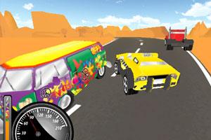 《3D沙漠出租车》游戏画面1