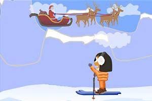《北极冰世界之旅》游戏画面1