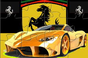 《法拉利名车拼图》游戏画面1