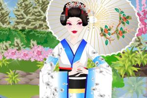 《盛放的樱花》游戏画面1