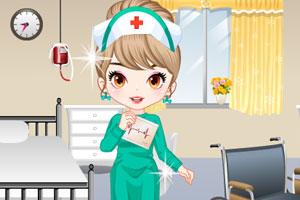 《时尚的小护士》游戏画面1