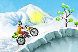 《冰雪摩托车2》游戏画面1