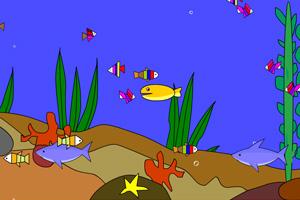 《涂鸦小鱼》游戏画面1