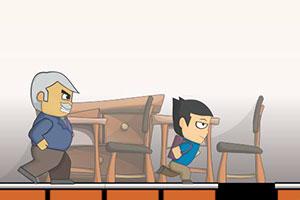 《老师来了》游戏画面1