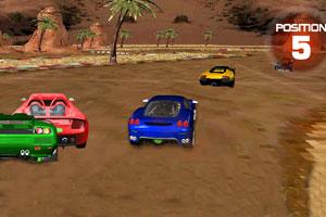 《3D沙漠赛车》截图1