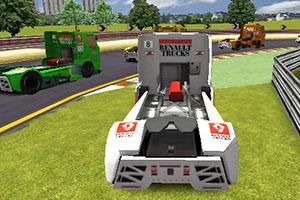 《3D雷诺卡车赛》游戏画面1