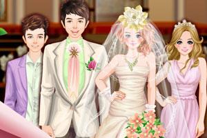 《婚礼上的装扮》游戏画面1