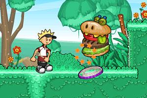 《老爹漢堡店歷險記》游戲畫面1