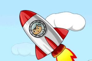 《怪猫火箭升空》游戏画面1