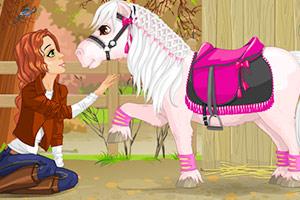 《艾米丽和小马》游戏画面1