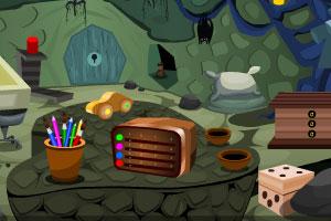《杂乱洞穴逃生》游戏画面1