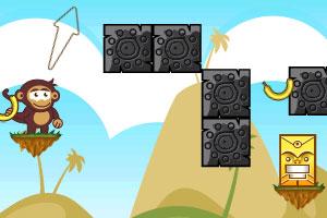 《小猴扔香蕉3》游戏画面1