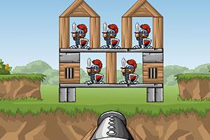 《炮轰铁甲兵》游戏画面1