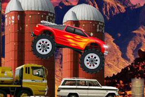 《疯狂的大脚车》游戏画面1