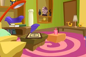 《逃离雕像卧室》游戏画面1