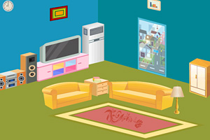 《逃离彩色客厅》游戏画面1