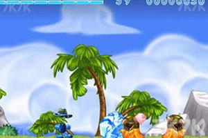 《冰火战士》游戏画面1