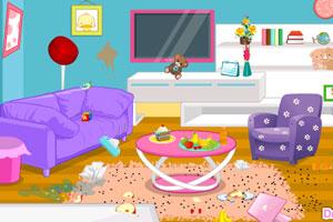 《整理凌乱房间》游戏画面1