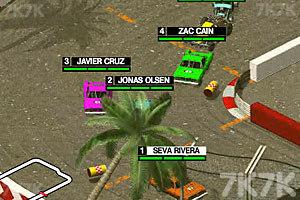 《3D疯狂车赛》游戏画面3