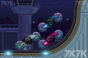 《双人旋转赛车选关版》游戏画面8