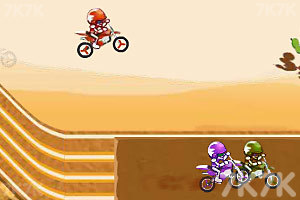 《越野摩托竞速赛》游戏画面5