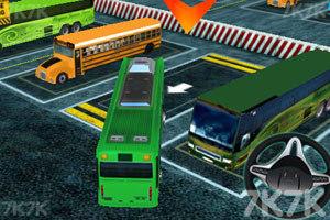 《3D巴士停车》游戏画面7