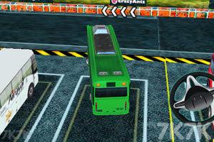 《3D巴士停车》游戏画面5