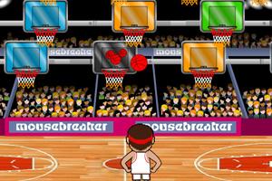 《篮球抛投训练》游戏画面1