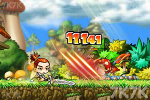 《冒险王双人无敌版》游戏画面4