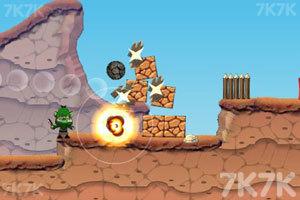 《大炮炸小人》游戏画面8
