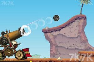 《大炮炸小人》游戏画面3