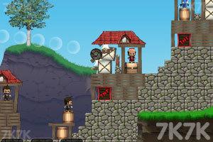 《大炮炸小人》游戏画面7