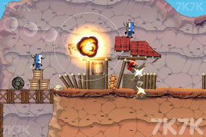 《大炮炸小人》游戏画面9