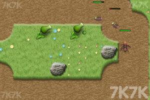 《植物大战害虫》游戏画面2