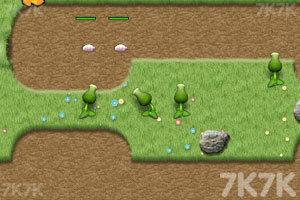 《植物大战害虫无敌版》游戏画面2