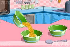 《制作柠檬蛋糕》游戏画面2