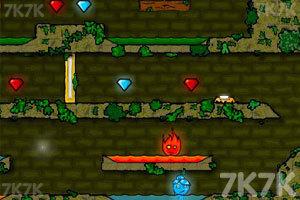 《森林冰火人》游戲畫面9