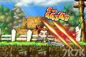 《冒险王之精灵物语无敌速升版》游戏画面4